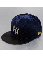 New Era Fitted Cap MLB Lux Mix NY Yankees blue