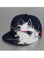 New Era Fitted Cap Splatways New England Patriots blue