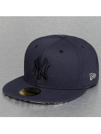 New Era Fitted Cap Leopard New York Yankees blue