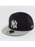 New Era Fitted Cap Team Rubber Logo NY Yankees bont