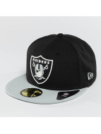 New Era Fitted Cap Team Rubber Oakland Raiders bont