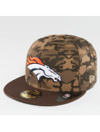 New Era Fitted Cap Camo Team Denver Broncos 59Fifty bunt