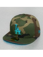 New Era Fitted Cap All Over Camo LA Dodgers camouflage