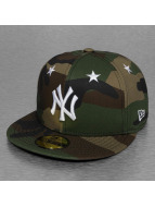 New Era Fitted Cap MLB NY Yankees Star Crown camouflage