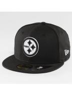 New Era Fitted Cap Pittsburgh Steelers czarny