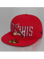 New Era Fitted Cap Bevel Pitch ST. Louis Cardinals czerwony