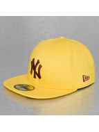 New Era Fitted Cap MLB Seasonal Contrast NY Yankees 59Fifty geel