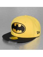 New Era Fitted Cap Reverse Hero Batman 59Fifty geel