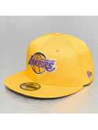 New Era Fitted Cap Colden LA Lakers geel