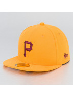 New Era Fitted Cap Seasonal Contrast MLB Pittsburgh Pirates 59Fifty gelb
