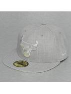 New Era Fitted Cap Tonal Heather Chicago Bulls 59Fifty grå
