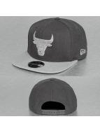 New Era Fitted Cap NBA Heather Chicago Bulls 9Fifty grå