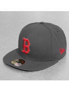 New Era Fitted Cap Seasonal Contrast Boston Red Sox grau