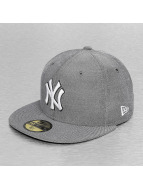 New Era Fitted Cap Teamox NY Yankees grau