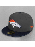 New Era Fitted Cap NFL Ballistic Visor Denver Broncos grau