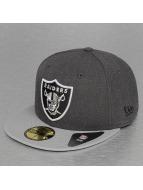 New Era Fitted Cap Heather Team Oakland Raiders 59Fifty grau