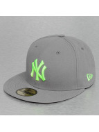 New Era Fitted Cap Seasonal Contrast New York Yankees grau