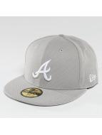 New Era Fitted Cap Diamond Era Essential Atlanta Braves 59Fifty grau