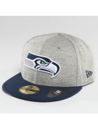 New Era Fitted Cap Team Jersey Crown Seattle Seahawks grau