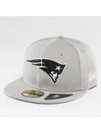 New Era Fitted Cap New England Patriots grau