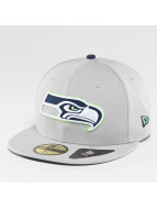 New Era Fitted Cap Seattle Seahawks grau