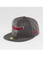 New Era Fitted Cap NBA Atlanta Hawks grau