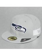 New Era Fitted Cap Side Block Seattle Seahawks 59Fifty grey