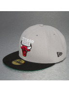 New Era Fitted Cap Chicago Bulls 59Fifty grijs