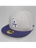 New Era Fitted Cap Diamond Reverse LA Dodgers grijs
