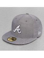 New Era Fitted Cap Teamox Atlanta Braves grijs