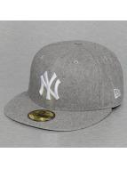 New Era Fitted Cap Melton NY Yankees grijs