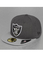 New Era Fitted Cap Heather Team Oakland Raiders 59Fifty grijs