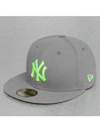 New Era Fitted Cap Seasonal Contrast New York Yankees grijs