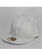 New Era Fitted Cap NBA Heather Chicago Bulls 59Fifty grijs