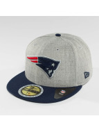 New Era Fitted Cap Reflective Heather New England Patriots grijs