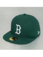New Era Fitted Cap MLB League Basic Boston Red Sox groen