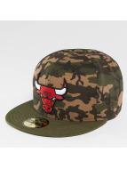 New Era Fitted Cap Camo Team Chicago Bulls 59Fifty maskáèová