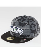 New Era Fitted Cap Camo Team Seattle Seahawks 59Fifty maskáèová