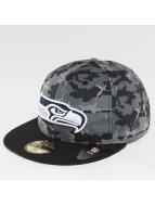 New Era Fitted Cap Camo Team Seattle Seahawks 59Fifty maskáèová