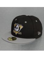 New Era Fitted Cap NHL Team Ducks Classic Anaheim nero