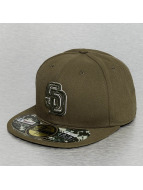 New Era Fitted Cap JD San Diego Padres olivová