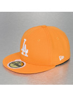 New Era Fitted Cap League Basic LA Dodgers orange