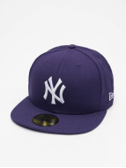 New Era Fitted Cap MLB Basic NY Yankees 59Fifty paars