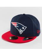New Era Fitted Cap Team Rubber New England Patriots pestrá