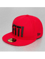 New Era Fitted Cap Slogan Pack Fit rood