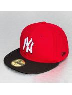 New Era Fitted Cap Season Diamond Era NY Yankees rood