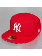 New Era Fitted Cap 27 Strike Offs NY Yankees rood