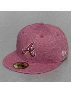 New Era Fitted Cap MLB Atlanta Braves Jersey rood