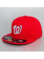 New Era Fitted Cap Authentic Performance Washington Nationals 59Fifty rood