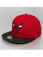 New Era Fitted Cap NBA Tonal Zebra rot